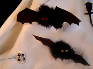 basteltipp zu halloween die fledermaus. Black Bedroom Furniture Sets. Home Design Ideas