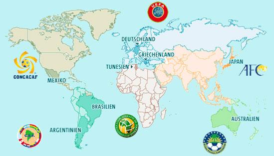 Karte Kontinente Welt.Kontinente Einfach Erklart