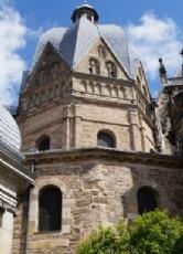 karls lieblingspfalz aachen das karolingische oktogon lie karl der groe als kapelle zwischen 796 und 805 nach byzantinischem vorbild erbauen - Karl Der Grose Lebenslauf