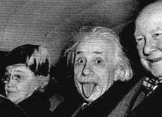 Albert Einstein Die Zunge Des Genies