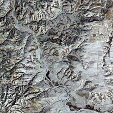 Chinesische Mauer Mond