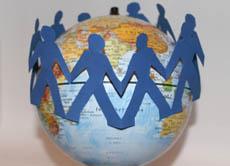 Menschen weltweit kennenlernen