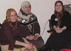 Die Frauen des Agenda Arbeitskreises Kultur und Soziales trafen sich ...