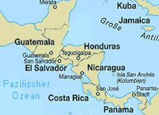 Mittelamerika Karte Staaten.Maras Jugendbanden In Mittelamerika