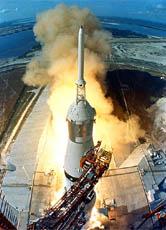 Die Erste Mondlandung Ein Großer Schritt Für Die Menschheit