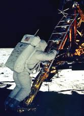 Die erste Mondlandung: \