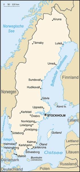 Schweden Waldbrände Karte.Schweden