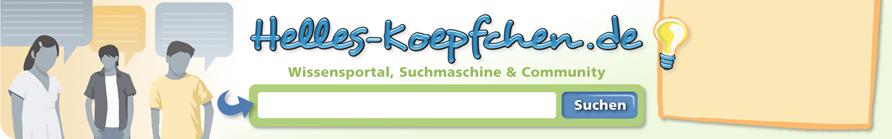 Köpfchen-Suchmaschine